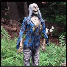 Lifesize Animated Halloween Props by Deluxe Life Size Zombie Prop Corpse Charlie Mad About Horror