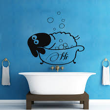 popular kids bath stickers buy cheap kids bath stickers lots from sheep take a bath wall sticker living room wall decals bathroom waterproof vinyl removable bubble home