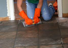 prepare and install a tile floor hgtv