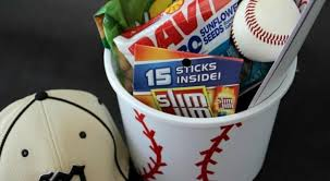 baseball gift basket cheap diy gift baskets the busy budgeter