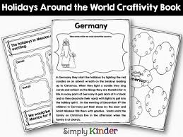 holidays around the world for kinder and simply kinder