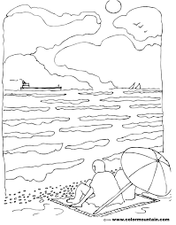 summer coloring page maze create a printout or activity
