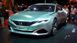 peugeot concept car the peugeot exalt concept car w 340hp detailed looks autorai