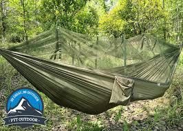 hammock with mosquito net ptt outdoor