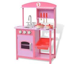cuisine jouet acheter vidaxl cuisine jouet 60 x 27 x 83 cm bois pas cher