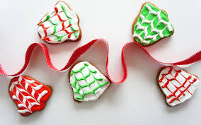 cookies bells ribbon christmas new year 6923287