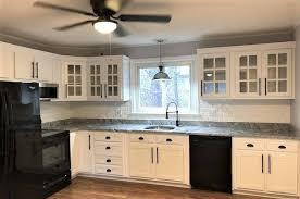 glass mullion kitchen cabinet doors naples thermofoil shaker mullion custom cabinet doors 6