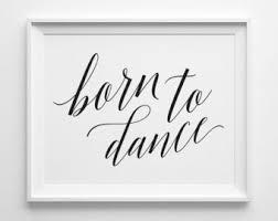 Dance Studio Decor Dance Studio Decor Etsy