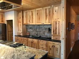 hickory grey stained kitchen cabinets knotty and part 2 explore the options with hickory