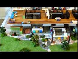 model for architects of a restaurant interior design models
