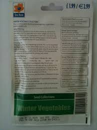 seed collection of australian native plants winter vegetable seed collection 6 in 1 pack amazon co uk garden