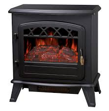 foxhunter nd 181m 1850w log burning effect electric fire stove