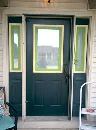 Paint Front Door Adding Curb Appeal How To Paint Shutters And Front Door U2022 Our