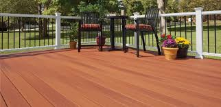 Patio Rails Ideas Outdoor Cozy Fiberon Railing For Your Deck Design Ideas