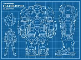 iron man mark 7 suit blueprints 16x24 by ryanhuddle on etsy geek