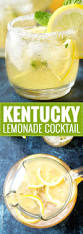 refreshing kentucky lemonade cocktail the chunky chef