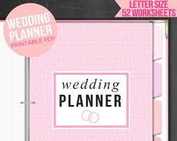printable wedding planner etsy your place to buy and sell all things handmade