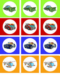 transformers rescue bots 1 edible cake or cupcake topper edible free rescue bots cup cake toppers page 2 i made these rescue