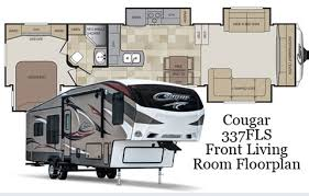 5th wheel with living room in front front living room 5th wheel floor plans militariart com