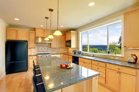 Light Wood Kitchens 13 Fantastic Kitchens With Black Appliances Pictures