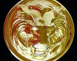 vintage lion ring holder images Lion head scarf etsy jpg