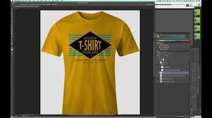 t shirt design erstellen mockup a t shirt design in photoshop so it looks real