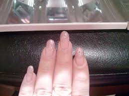 glitter french tip gel nails yelp
