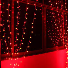 red string lights for bedroom 6 1m 256 bulbs red lantern led curtain string lights christmas
