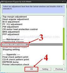 epson l800 resetter softwares here download resetter adjustment epson l800