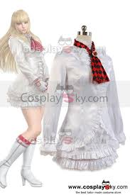 tekken lili white dress costume cosplay tekken cosplay