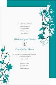 teal wedding invitations shop teal wedding invitations magnetstreet