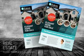 real estate flyers templates free real estate flyer templates by kinzi21 on creative market best