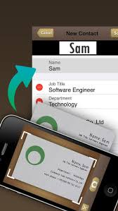 Business Card Reader For Android Best Business Card Reader App Best Business Card Reader App For