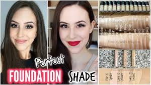 Choosing A Lshade | how to choose the right foundation shade perfect foundation color