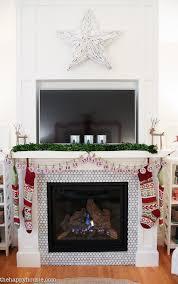 Wayfair Home Decor Classic Christmas Mantel Decor With Wayfair The Happy Housie