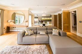 build a living room new build in hadley wood contemporary living room london