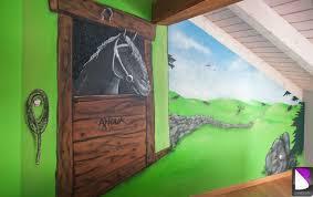 deco chambre cheval chambre fille cheval