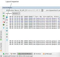 text layout programming guide challenge exploring the layout inspector android programming the