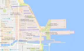 Chicago Midway Map by How To Find Parking In Streeterville Easy Chicago Parking