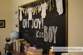baby shower chalkboard scrapping with liz diy chalkboard baby shower christmas advent