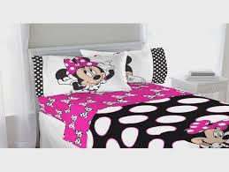 Minnie Mouse Infant Bedding Set Minnie Mouse Wooden Toddler Bed Minnie Mouse Slumber Set Value