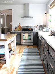 no cabinets in kitchen kitchen trend no upper cabinets emily a clark