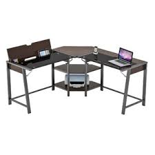 table l with usb charging port computer desk with usb ports wayfair