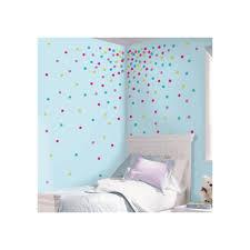 roommates 5 in x 11 5 in multi glitter confetti dots peel and multi glitter confetti dots peel and stick wall decal