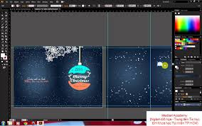 adobe illustrator create a merry and happy new year