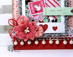 Valentine Home Decorations Gypsy Soul Laser Cuts Kiss Kiss Valentine Shaker Tag Holiday Home
