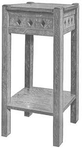 Woodworking Plans For Small Tables by 104 Best Mission Furniture Plans Images On Pinterest Furniture
