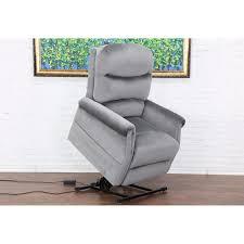 classic plush power lift recliner living room chair free