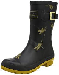 buy boots shoes joules s molly welly wellington boots black dragonfly shoes