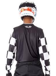 troy lee designs motocross gear troy lee designs black 2018 gp checker mx jersey ebay